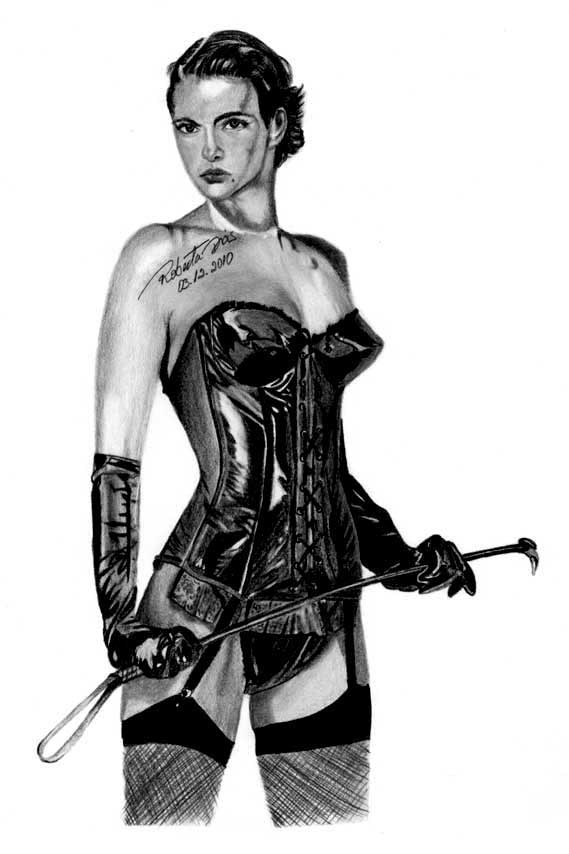 Dominatrix - Desenhada por Roberta Dias